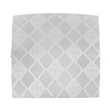 Plafon Inspire Marrocos Quadrado Vidro Branco Bivolt