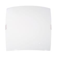 Plafon Inspire Napi Quadrado Vidro Branco Bivolt