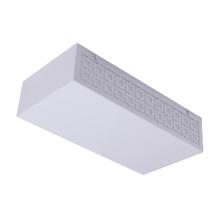 Plafon Inspire Nice Retangular Plástico Branco Bivolt