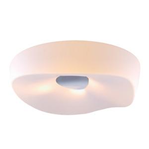 Plafon LLUM Cloud Redondo Aço/PVC Branco 4 Lamp Bivolt