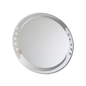 Plafon Tech  Alumínio/Vidro Branco Kin