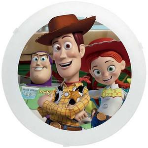 Plafon Toy Story 2 Lâmp. E27 Redondo 30cm Colorido Startec