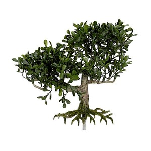Planta Artificial Bonsai 17cm Verde Flor Arte
