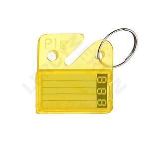 Plaqueta Amarelo 5244 Sr Fechaduras