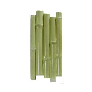 Plaqueta Bambu Imperial Oliva 29x11,5cm Revest L'art
