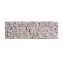 Revestimento para Fachada Fosco Branco P-013501 Linha Steno Mosaico Puro 29,70x10cm Passeio