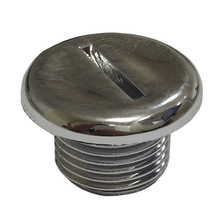 """Plug Arremate ABS 1/2"""" Cromado Acquabios"""