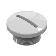 "Plug Arremate ABS 1/2"" Branco Acquabios"