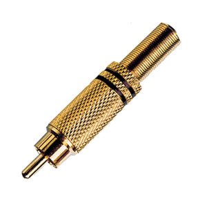 Plugue RCA Gold A.Santos