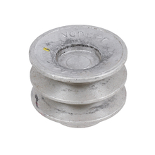 Polia Aluminio 2 Canais A - 60mm Vonder
