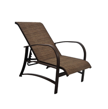 Poltrona Alumínio Deck Chair Atlanta Café 59x140cm Outdoor