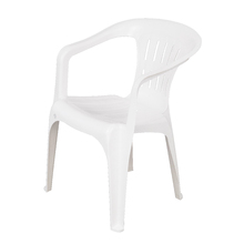 Poltrona Plástico Atalaia Branca 73x53cm