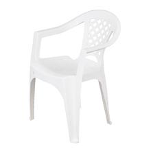 Poltrona Plástico Iguape Branca 72x50cm