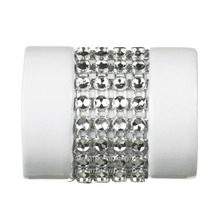 Ponteira Amsterdan Alumínio Branca 28mm DeVictor