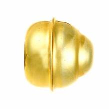 Ponteira Bola Alumínio Dourada 19mm Couselo