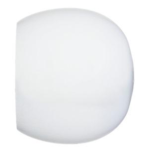 Ponteira Bola Madeira Branca 32mm Santone
