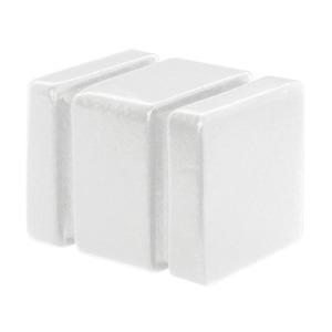 Ponteira Domélia Madeira Branca 19mm Santone
