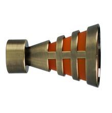 Ponteira Egito Aço Ouro Velho 28mm Vettra