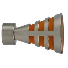 Ponteira Egito Aço Prata 28mm Vettra
