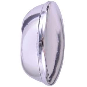 Ponteira Gales Alumínio Prata 28mm Couselo