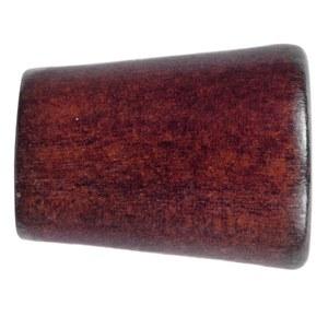 Ponteira Madri Madeira Mogno 19mm Santone