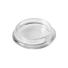 Ponteira para Móveis Circular Plástico 30mm Transparente Hettich