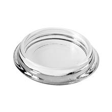 Ponteira para Móveis Circular Plástico 40mm Transparente Hettich