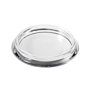 Ponteira para Móveis Circular Plástico 50mm Transparente Hettich