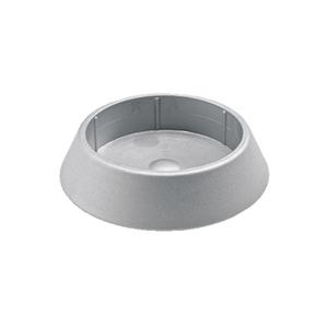 Ponteira para Móveis Circular Plástico 60mm Cinza Hettich
