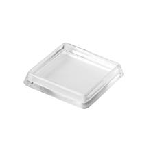 Ponteira para Móveis Quadrado Plástico 50x50mm Transparente Hettich