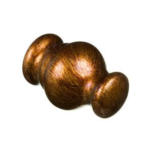 Ponteira Roma Madeira Ouro Velho 19mm Santone