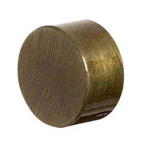Ponteira Tampa Redonda Cromada Ouro Velho 28mm DeVictor