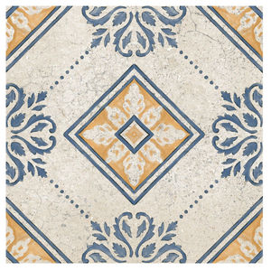 Porcelanato Acetinado Borda Arredondada Capela Decor 252507H05 25x25cm Villagres