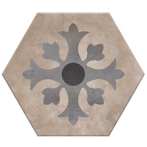 Porcelanato Acetinado Borda Arredondada Hexa 14 20x17cm Lumavix