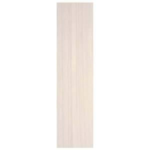 Porcelanato Acetinado Borda Plana Arqgeo Branco 30x120cm Eliane