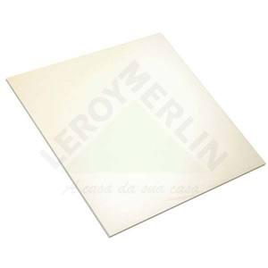 Porcelanato Semi-brilho Borda Plana Crema Series Mesclado Creme 60x60cm Precon