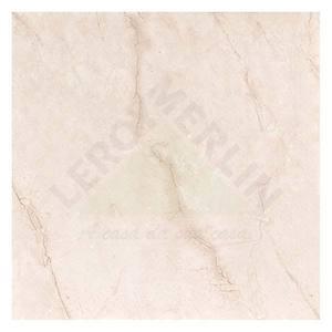 Porcelanato Acetinado Borda plana Monte Rosso Bege 50x50cm Elizabeth