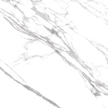 Porcelanato Esmaltado Polido Interno Borda Reta 120x120 Marmo Branco Eliane