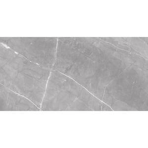 Porcelanato Esmaltado Polido Interno Borda Reta 80x160 Marmo Gris Eliane