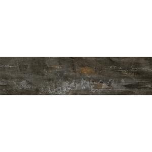 Porcelanato Externo Esmaltado Acetinado 17x103cm Legno Metallo Lanzi