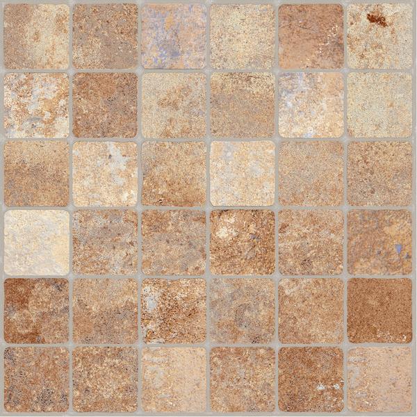Porcelanato externo esmaltado acetinado 61x61cm mosaico for Mosaico leroy merlin