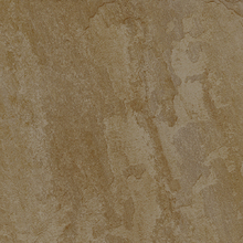 Porcelanato Externo Pedra Esmaltado Acetinado Borda Arredondada Flint Gold 61x61cm Buschinelli