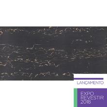 Porcelanato Interno Polido 60x120cm Nero Portoro Portobello