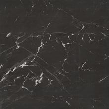 Porcelanato Interno Mármore Esmaltado Polido Borda Reta Nero Reale 84x84cm Elizabeth