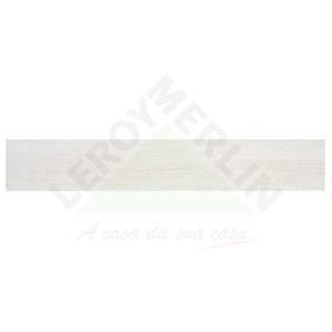 Porcelanato Acetinado Retificado Ecoparquet Branco 20X120cm Portobello