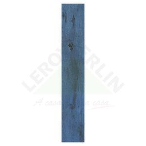 Porcelanato Acetinado Retificado Wood Color Blue 0,17x1,03cm Itagres