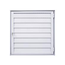 Porta Abrigo Veneziana Alumínio Branco 60x80cm Fortline Atlântica