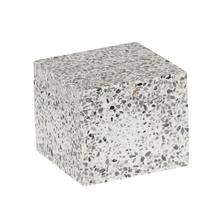 Porta Algodão Branca em Pedra Terrazo Sensea