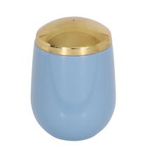 Porta Algodão Dourado em Plástico Confort Belly Ou