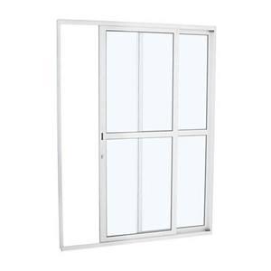 Porta Alumifort Co Dc 2F Bco216X160X8,7E